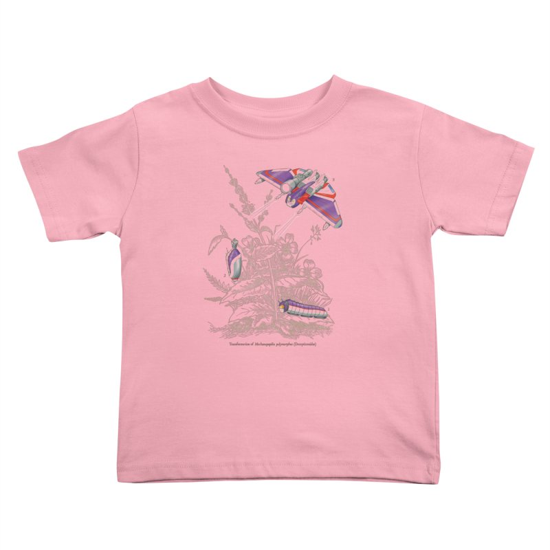 Natural Transformation Kids Toddler T-Shirt by Made With Awesome