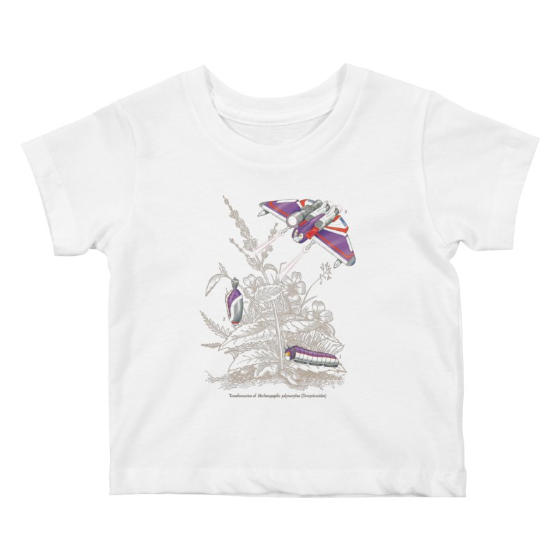 Natural Transformation Kids Baby T-Shirt by Made With Awesome