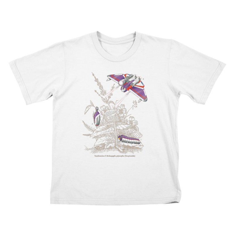 Natural Transformation Kids T-Shirt by Made With Awesome
