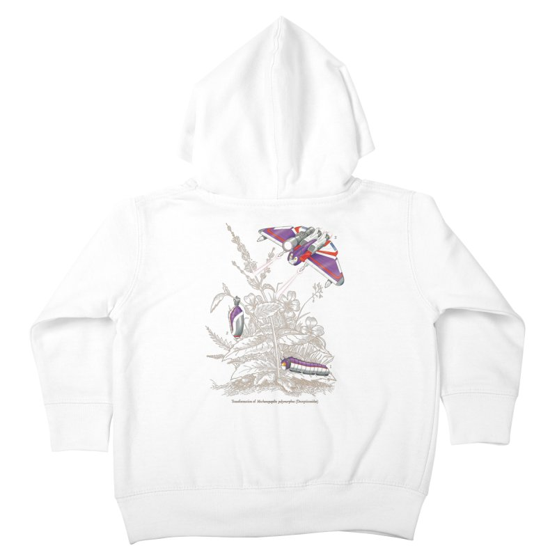 Natural Transformation Kids Toddler Zip-Up Hoody by Made With Awesome