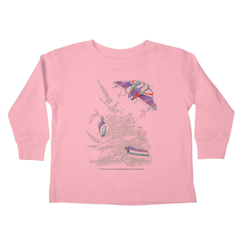 Natural Transformation Kids Toddler Longsleeve T-Shirt by Made With Awesome