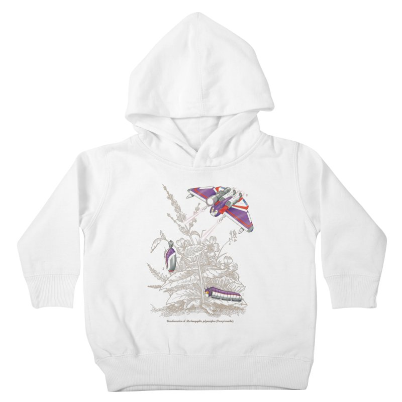 Natural Transformation Kids Toddler Pullover Hoody by Made With Awesome