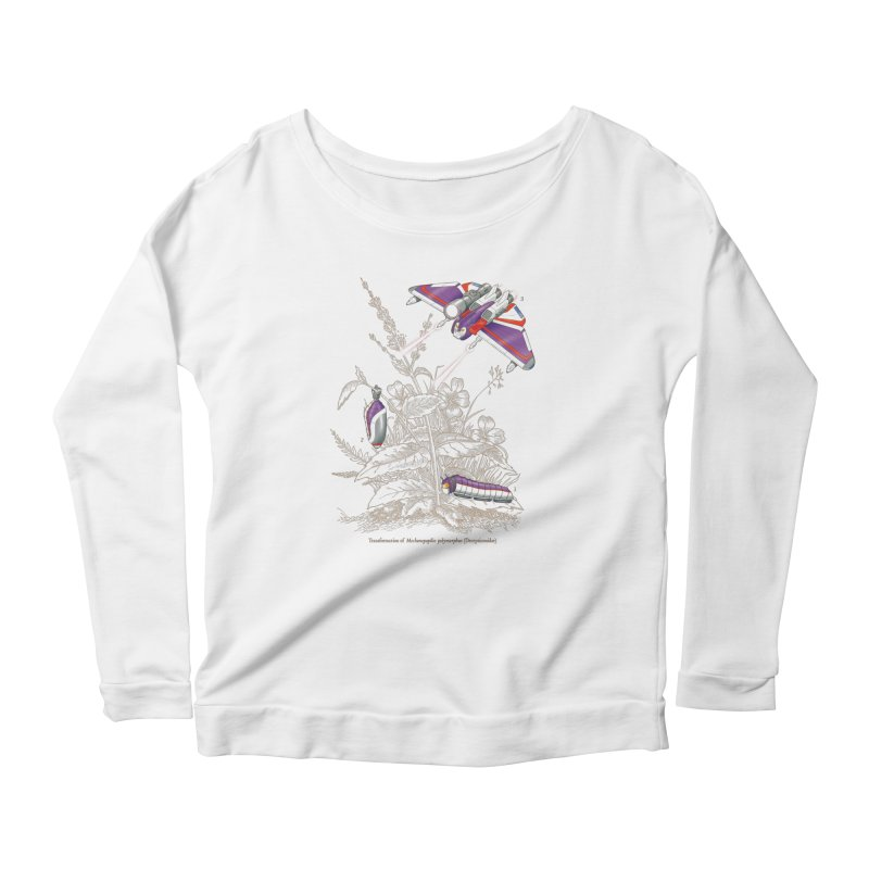 Natural Transformation Women's Scoop Neck Longsleeve T-Shirt by Made With Awesome