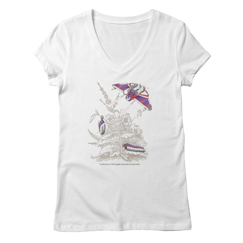 Natural Transformation Women's Regular V-Neck by Made With Awesome