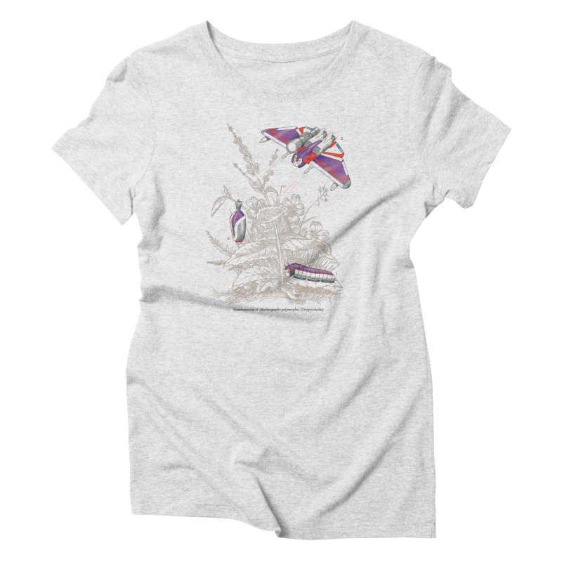 Natural Transformation Women's Triblend T-Shirt by Made With Awesome
