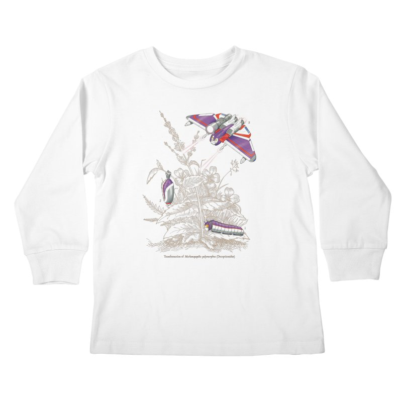 Natural Transformation Kids Longsleeve T-Shirt by Made With Awesome