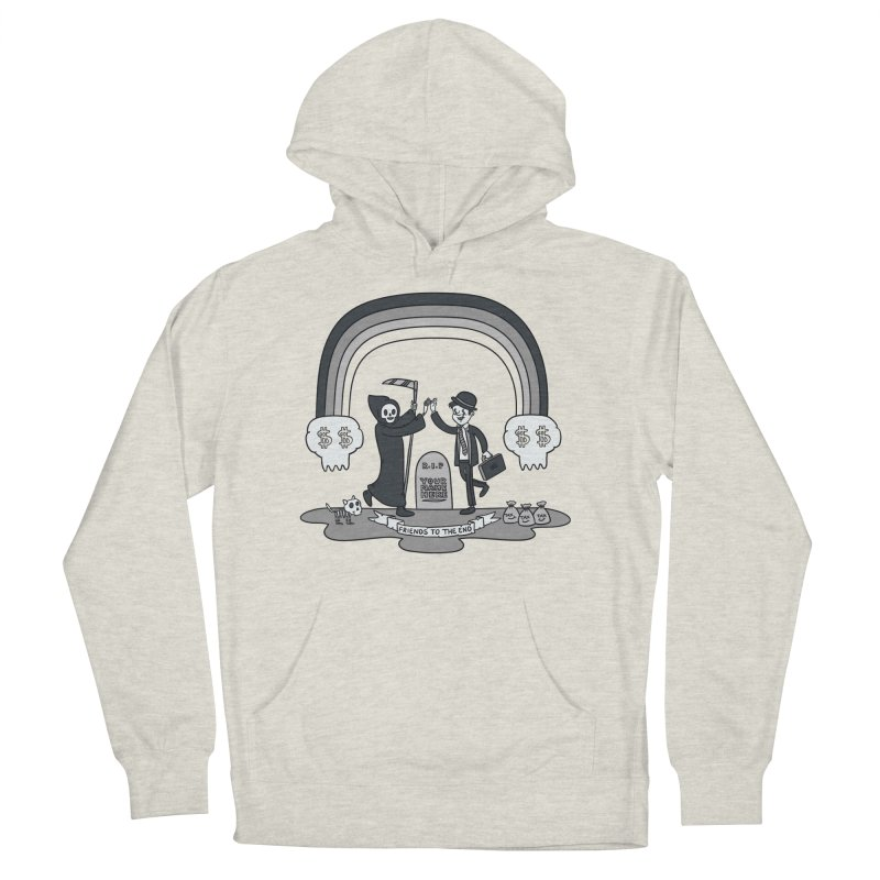 Death and Taxes Women's French Terry Pullover Hoody by Made With Awesome