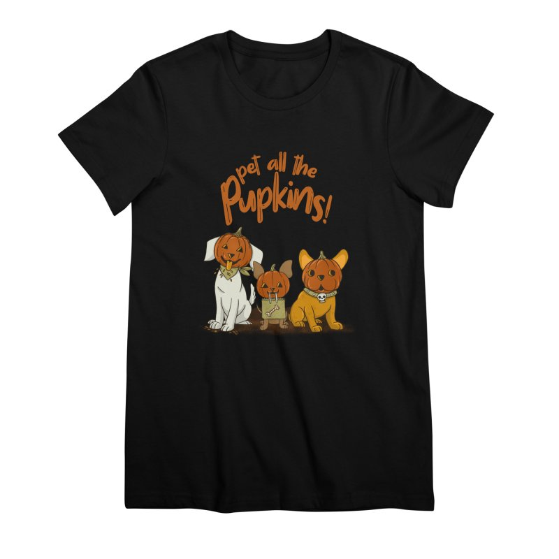 Pupkins! Women's Premium T-Shirt by Made With Awesome
