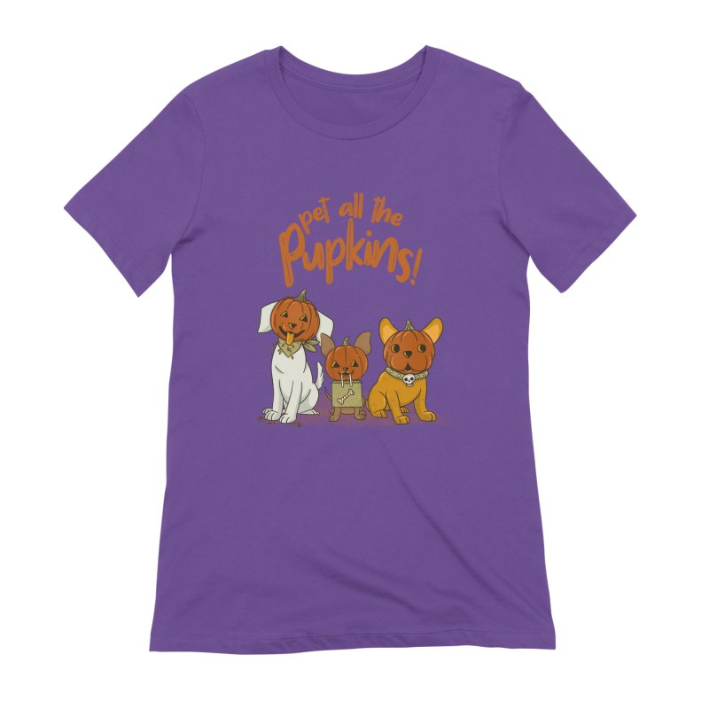 Pupkins! Women's Extra Soft T-Shirt by Made With Awesome