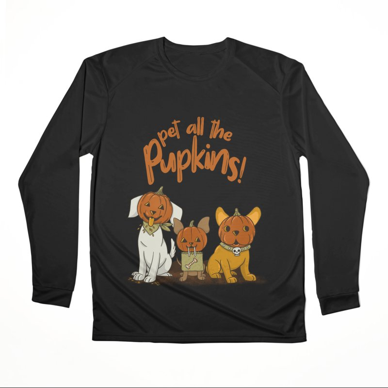 Pupkins! Women's Performance Unisex Longsleeve T-Shirt by Made With Awesome