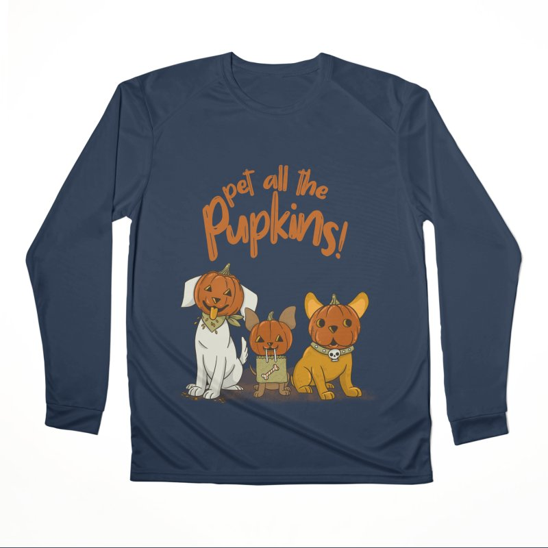 Pupkins! Men's Performance Longsleeve T-Shirt by Made With Awesome