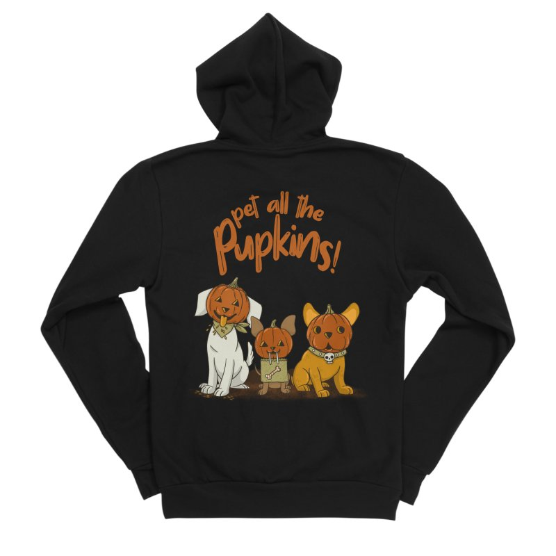 Pupkins! Women's Sponge Fleece Zip-Up Hoody by Made With Awesome