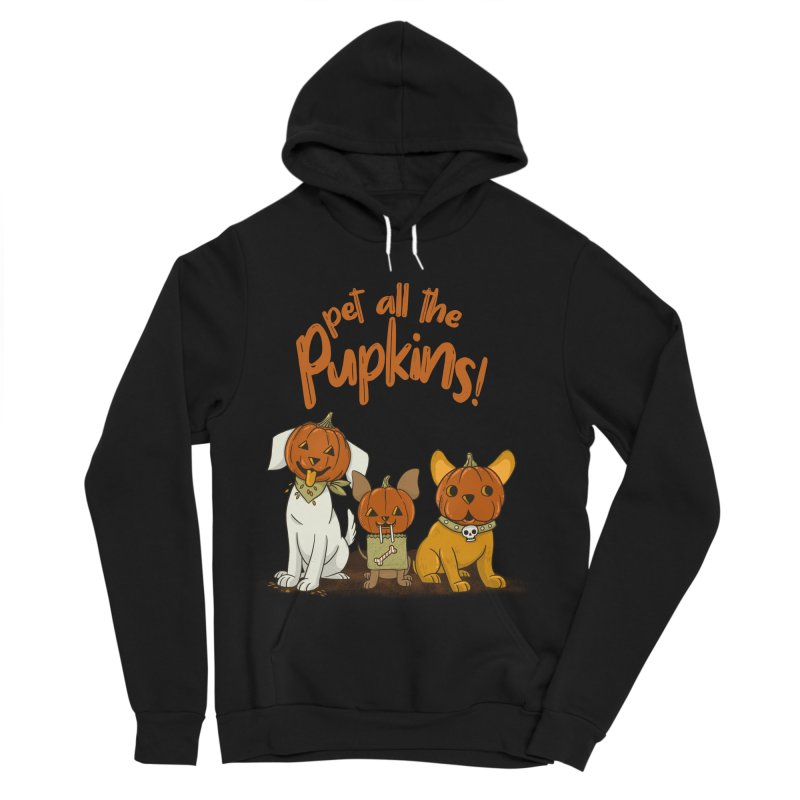 Pupkins! Women's Sponge Fleece Pullover Hoody by Made With Awesome
