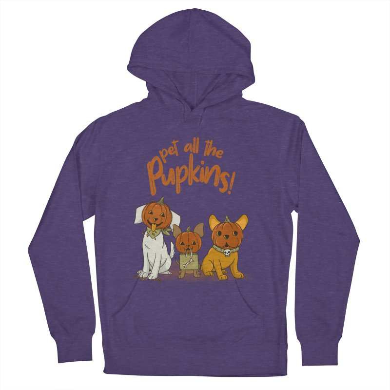 Pupkins! Women's French Terry Pullover Hoody by Made With Awesome