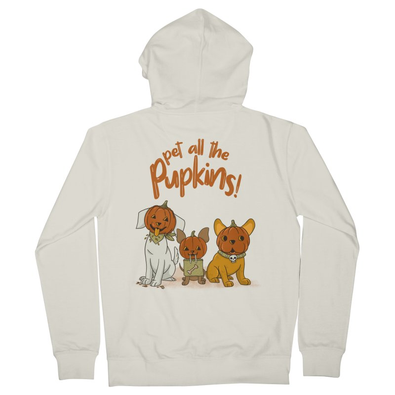 Pupkins! Women's French Terry Zip-Up Hoody by Made With Awesome