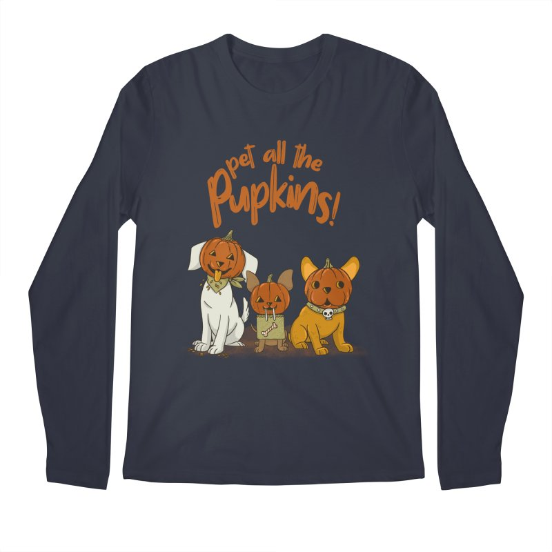Pupkins! Men's Regular Longsleeve T-Shirt by Made With Awesome