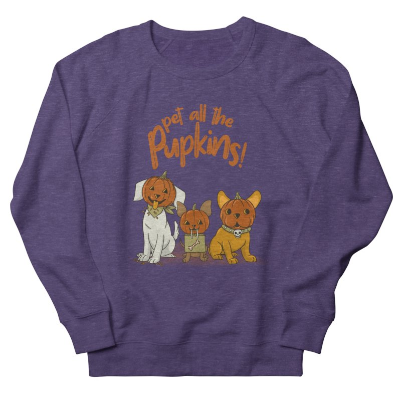 Pupkins! Women's French Terry Sweatshirt by Made With Awesome