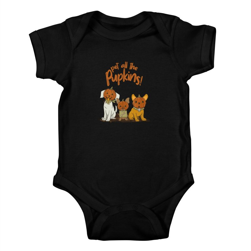 Pupkins! Kids Baby Bodysuit by Made With Awesome