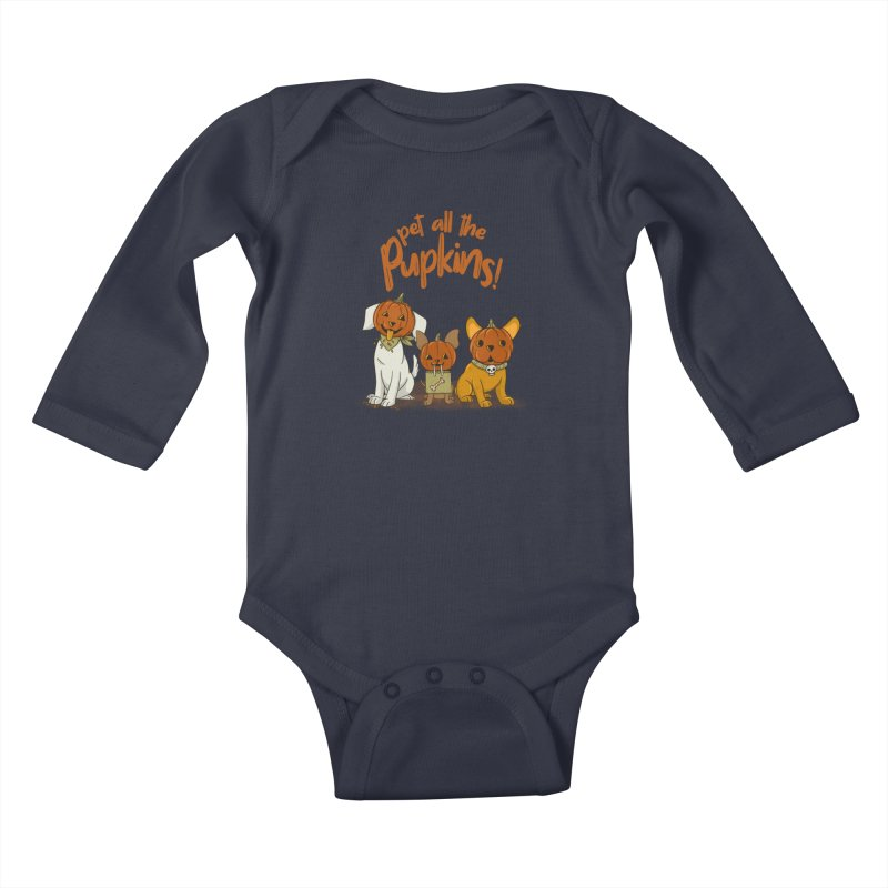 Pupkins! Kids Baby Longsleeve Bodysuit by Made With Awesome
