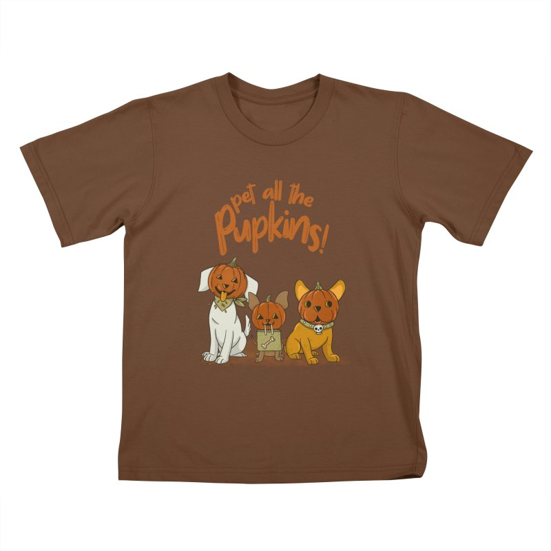 Pupkins! Kids T-Shirt by Made With Awesome