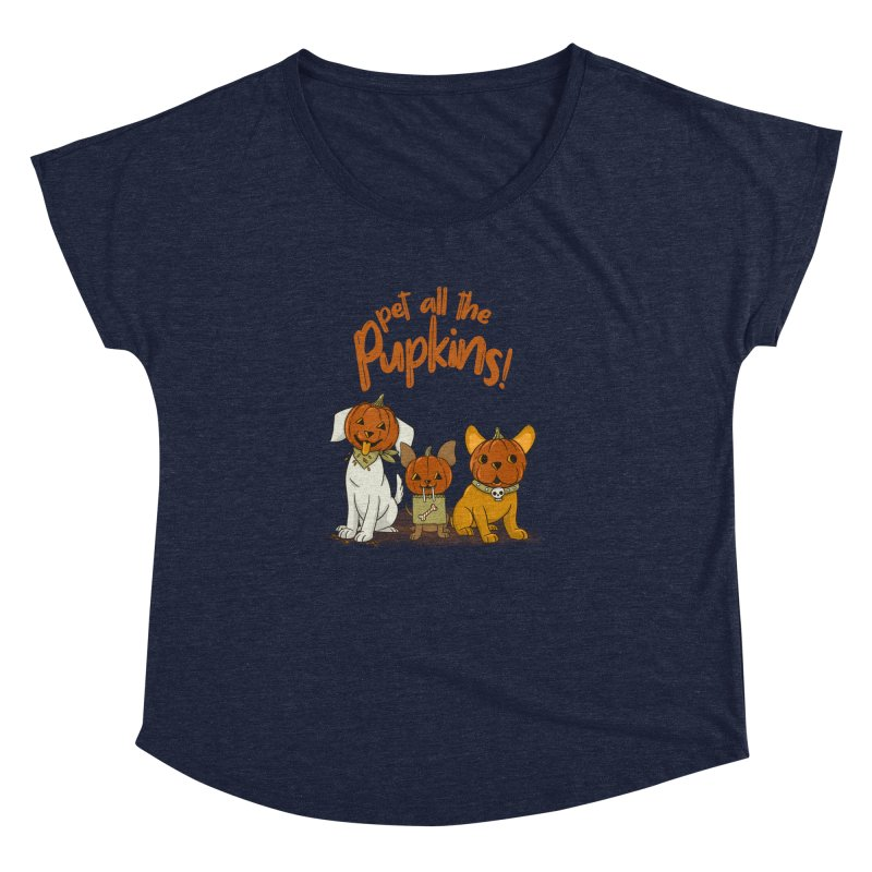 Pupkins! Women's Dolman Scoop Neck by Made With Awesome