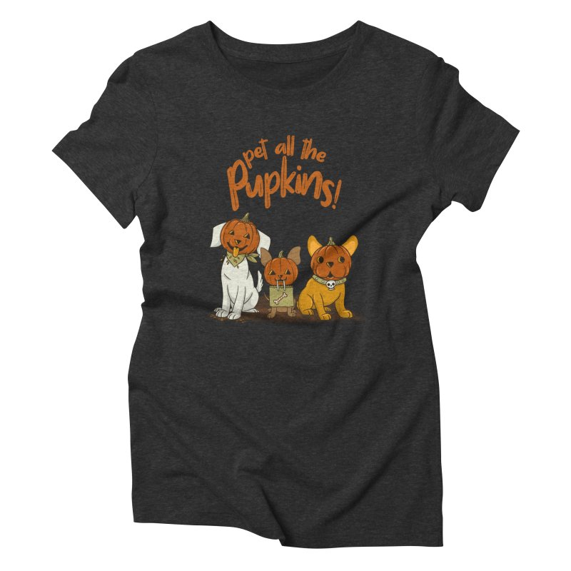 Pupkins! Women's Triblend T-Shirt by Made With Awesome