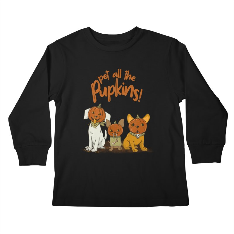 Pupkins! Kids Longsleeve T-Shirt by Made With Awesome
