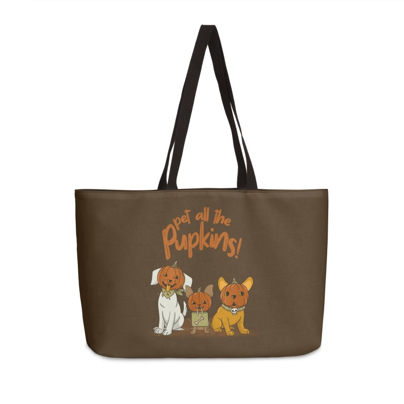Pupkins! Accessories Weekender Bag Bag by Made With Awesome