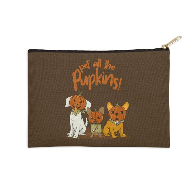 Pupkins! Accessories Zip Pouch by Made With Awesome