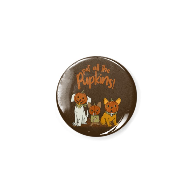 Pupkins! Accessories Button by Made With Awesome