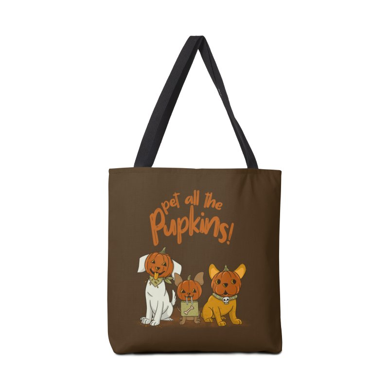 Pupkins! Accessories Tote Bag Bag by Made With Awesome