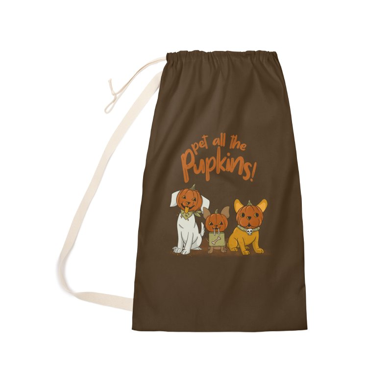 Pupkins! Accessories Laundry Bag Bag by Made With Awesome