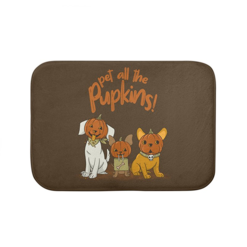 Pupkins! Home Bath Mat by Made With Awesome