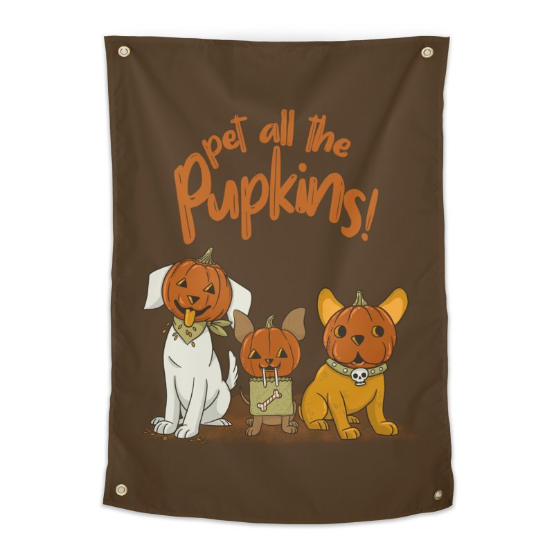 Pupkins! Home Tapestry by Made With Awesome