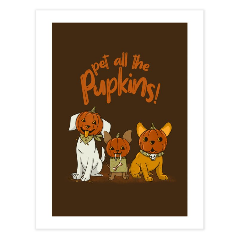Pupkins! Home Fine Art Print by Made With Awesome