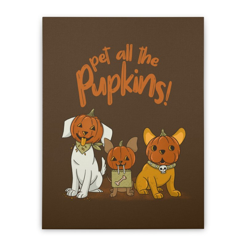 Pupkins! Home Stretched Canvas by Made With Awesome