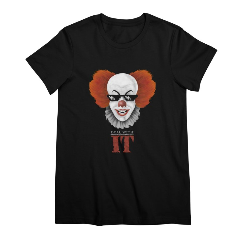Deal With IT Women's Premium T-Shirt by Made With Awesome