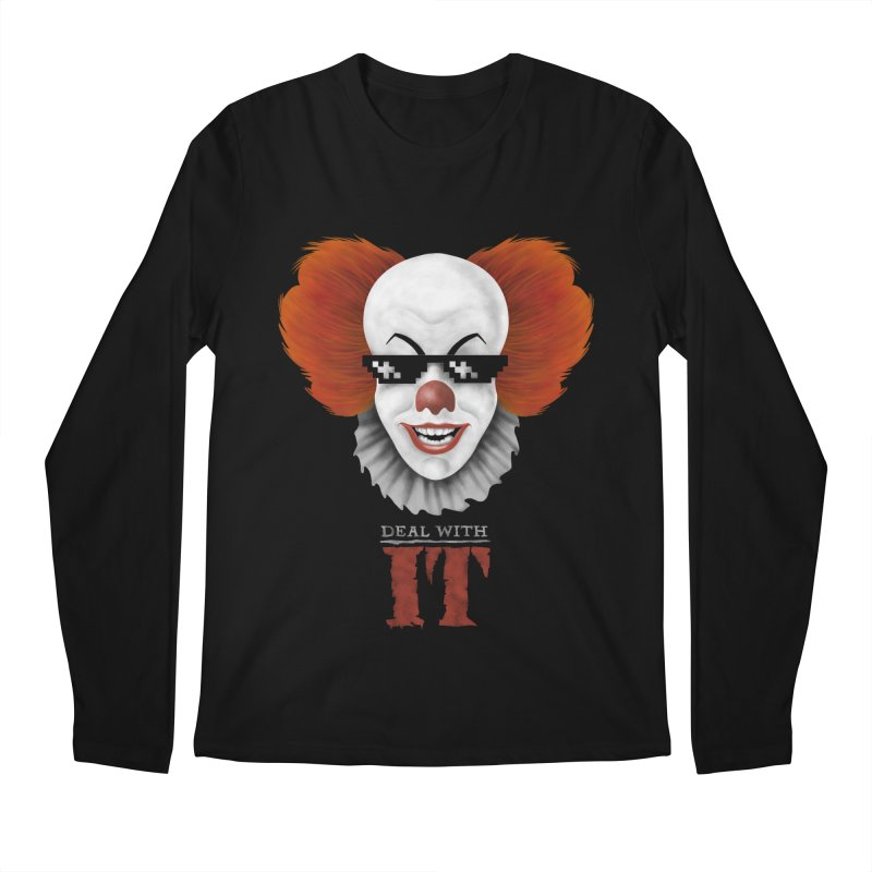 Deal With IT Men's Regular Longsleeve T-Shirt by Made With Awesome