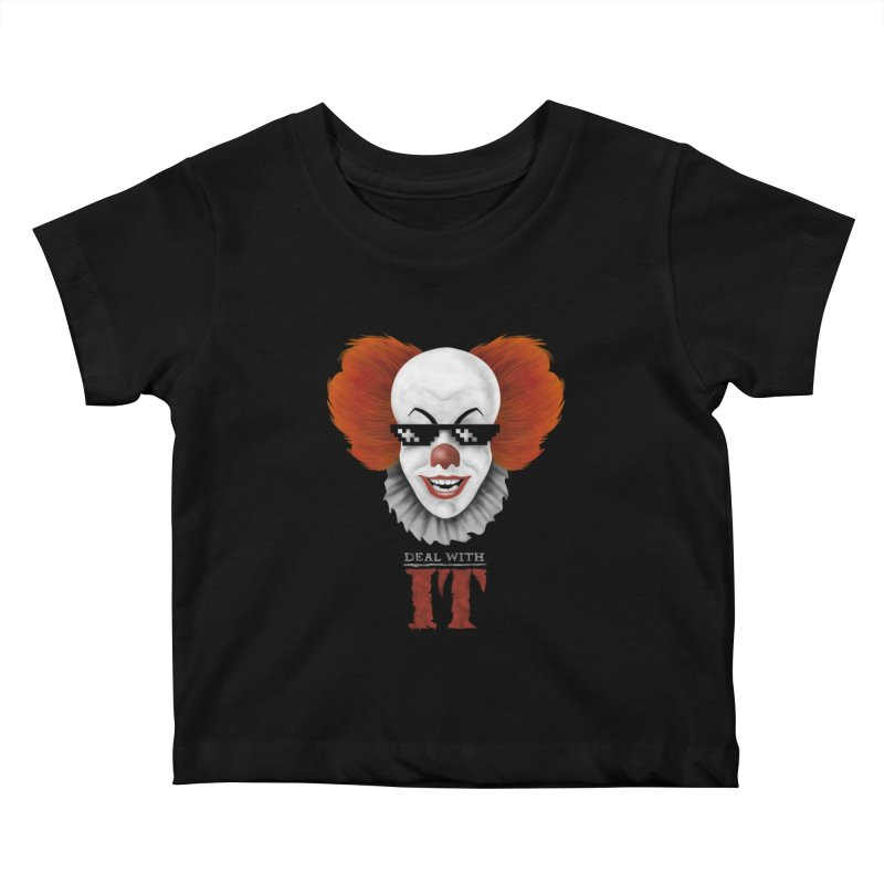 Deal With IT Kids Baby T-Shirt by Made With Awesome