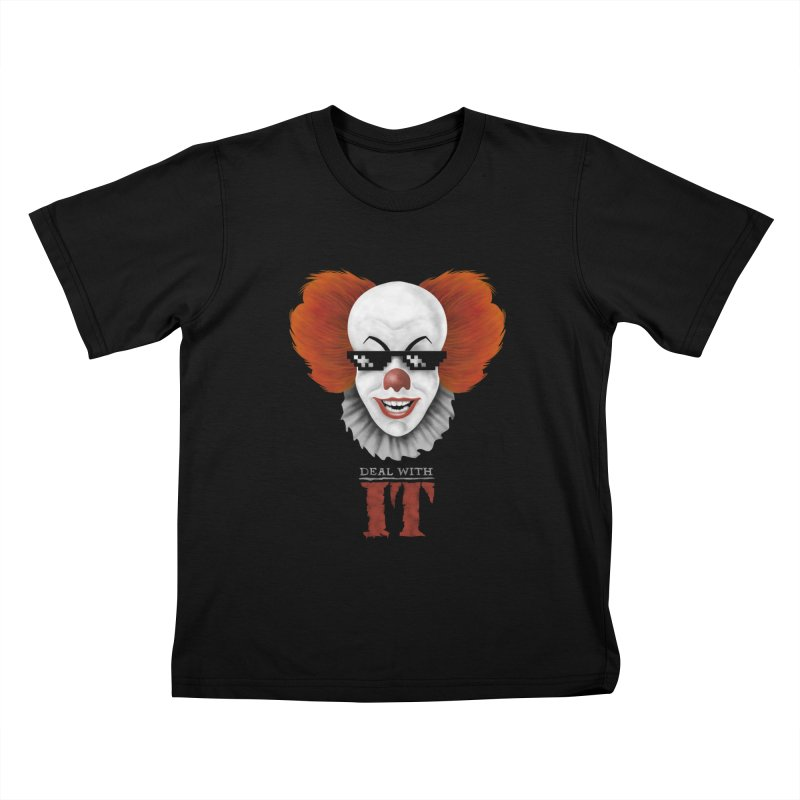 Deal With IT Kids T-Shirt by Made With Awesome