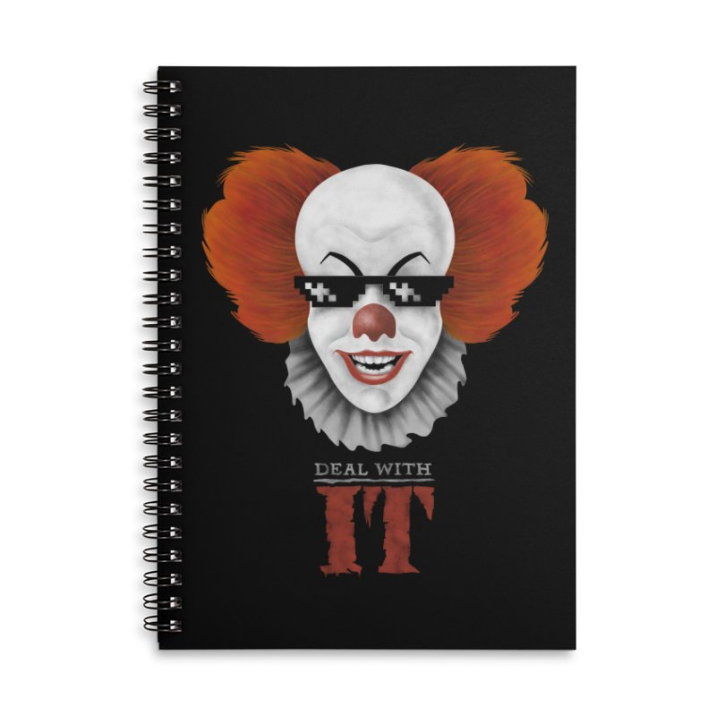 Deal With IT Accessories Lined Spiral Notebook by Made With Awesome
