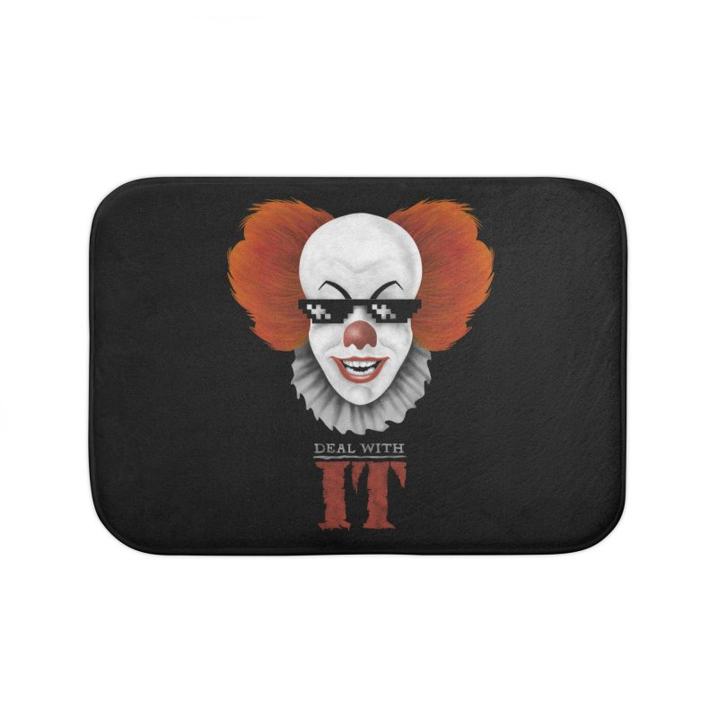 Deal With IT Home Bath Mat by Made With Awesome