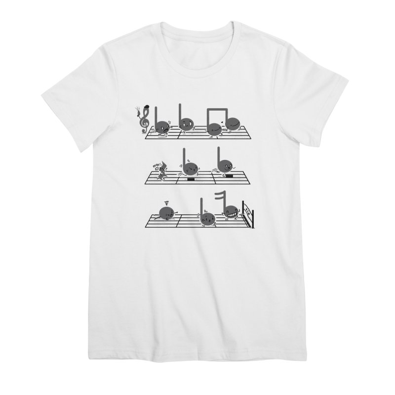 Sound Track Women's Premium T-Shirt by Made With Awesome