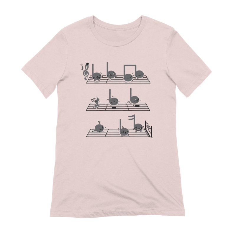 Sound Track Women's Extra Soft T-Shirt by Made With Awesome