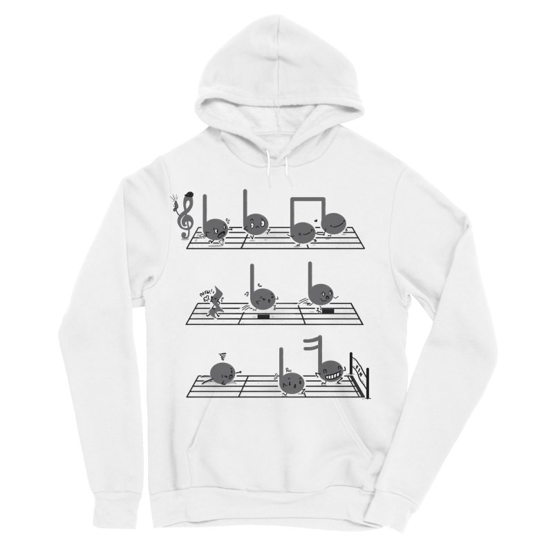 Sound Track Women's Sponge Fleece Pullover Hoody by Made With Awesome