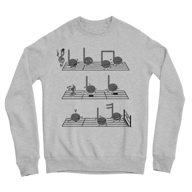 Sound Track Men's Sponge Fleece Sweatshirt by Made With Awesome