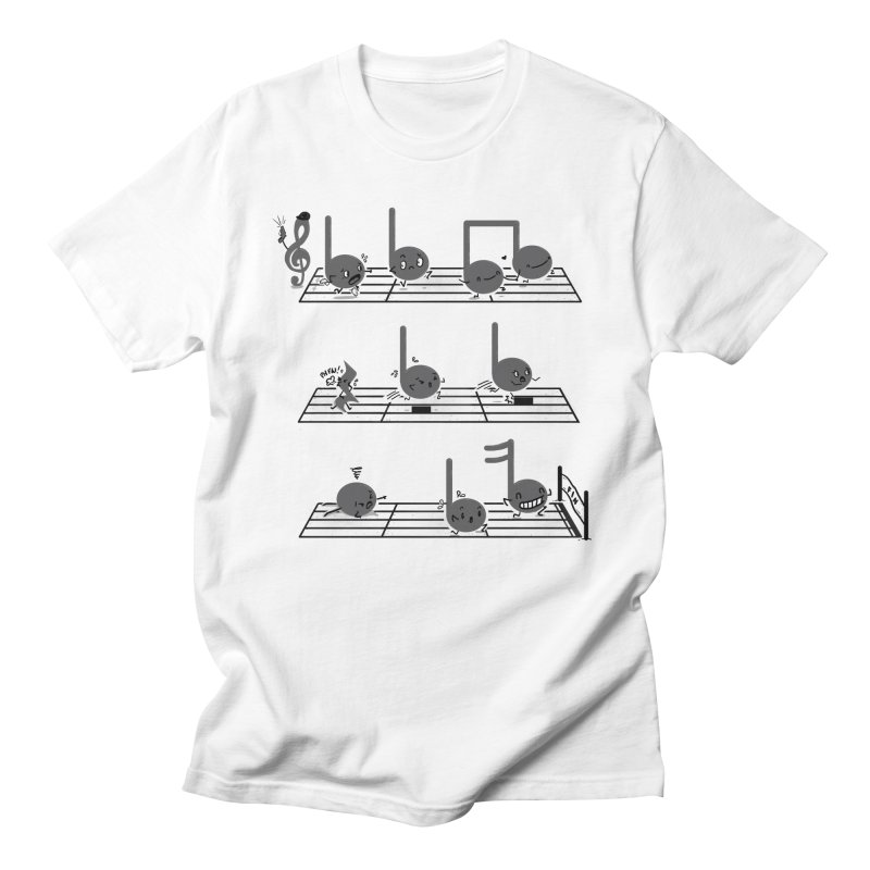 Sound Track Men's Regular T-Shirt by Made With Awesome