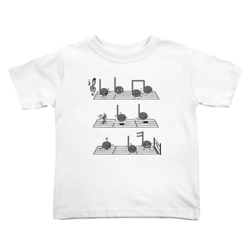 Sound Track Kids Toddler T-Shirt by Made With Awesome
