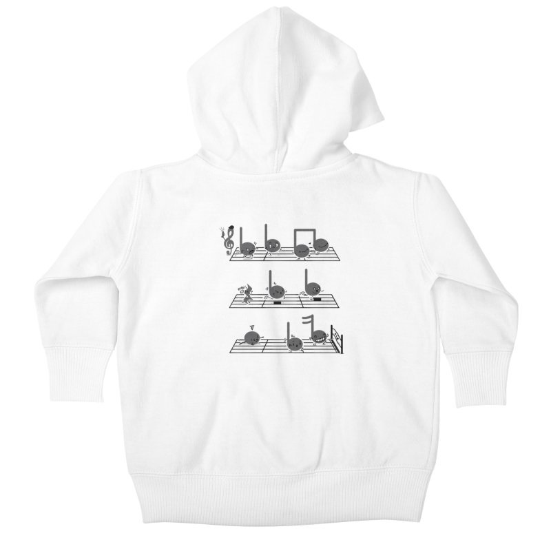 Sound Track Kids Baby Zip-Up Hoody by Made With Awesome