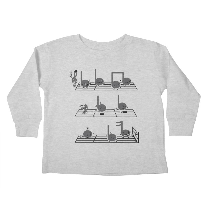 Sound Track Kids Toddler Longsleeve T-Shirt by Made With Awesome